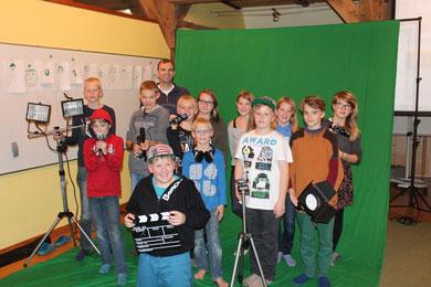 Die Gruppe des ersten Seminardurchlaufs 2013 unter der Leitung von Michael Fuchs.