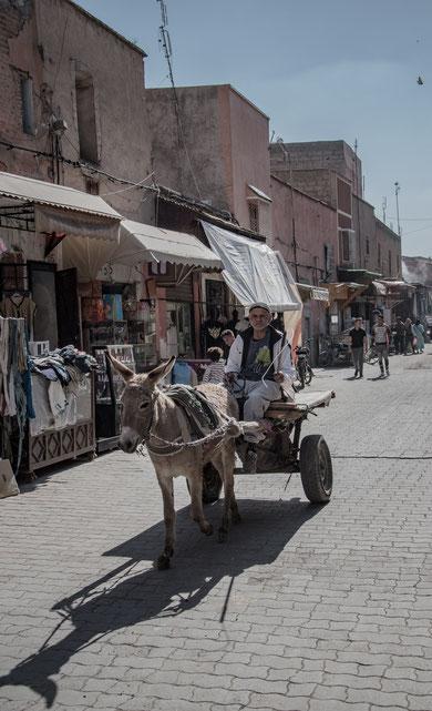 Rue Sidi Boulabada a Marrakech