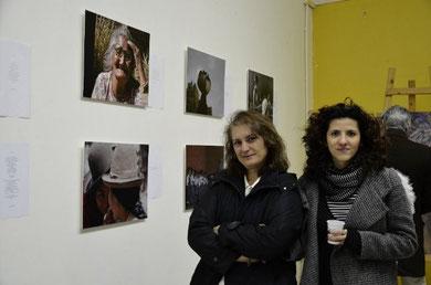 le autrici dell'espo fotografico