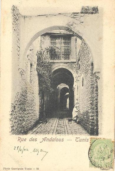 rue des Andalous vers 1900