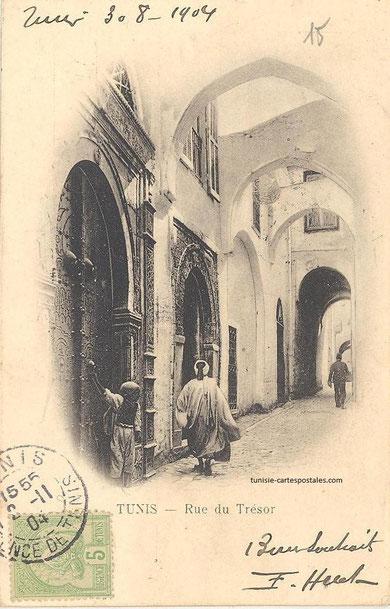 rue du trésor