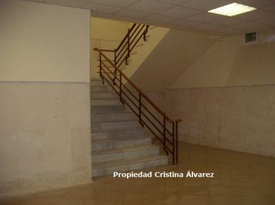 Escaleras donde hace referencia nuestra testigo en su testimonio