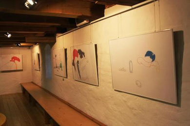2012, exhibition view, Malzhaus Gallery, Plauen, Germany