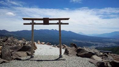 長野県 車山高原  車山神社 2015年建立