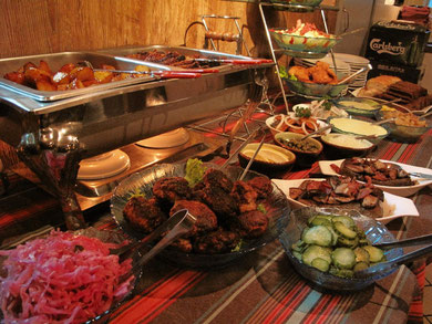 Scandinavian buffet