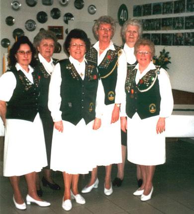 Gründerinnen Damenabteilung