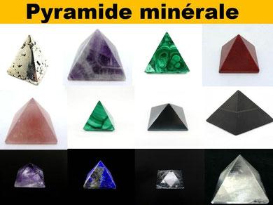 Pyramide minérale - Pyramide pierre naturelle - Boutique de minéraux - Casa bien-être.fr