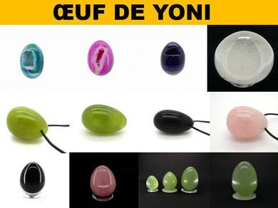 œuf de yoni - Boutique de minéraux - Casa bien-être.fr