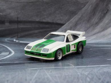 AURORA AFX Monza GT weiß/grün #0