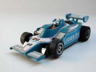 AURORA AFX G-Plus Ligier F1 #26 pertol