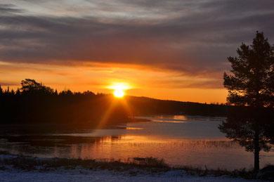 Sonnenaufgang  -  soluppgång