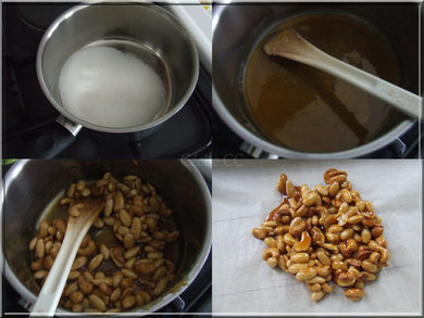 amande et noix de cajou caramelisees