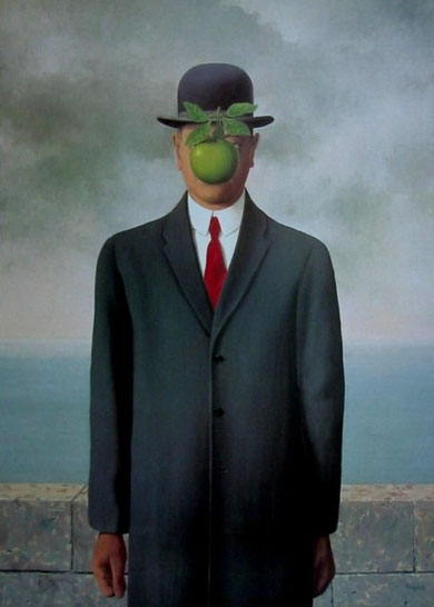 René Magritte - The Son of Man, 1964