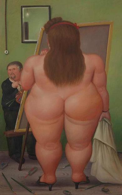 Fernando Botero - El Estudio, 1990
