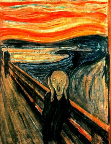 Edvard Munch - L'urlo, 1893