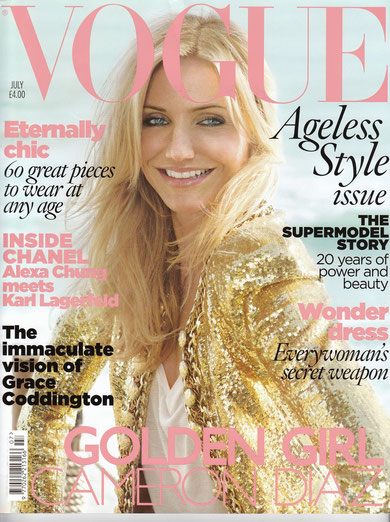 Vogue cover July 2010