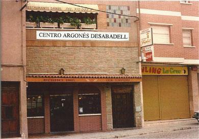 """Antiguo Bar Daniel """"Casa del Maño""""   ( Primera sede social del Centro )."""