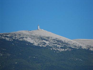 Stage de reconnaissance Etape du tour 2008 Mont ventoux