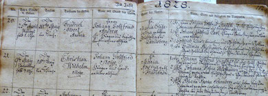 parish register Landsberg