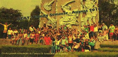 FIN DU SEMINAIRE DES FAMILLES 2010