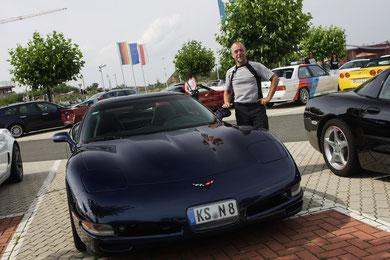 Michael mit seiner C5 Coupé
