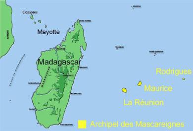 Archipel des Mascareignes