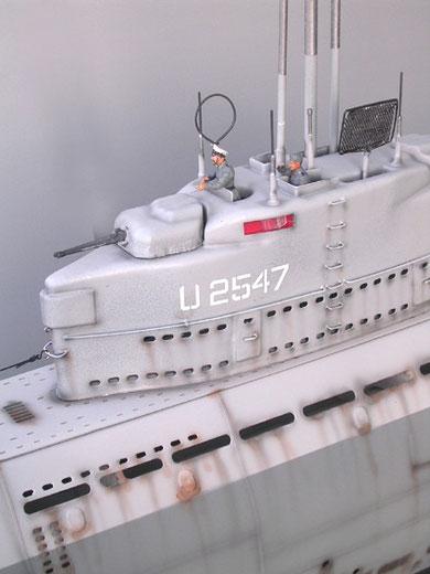 2x 30mm-Zwillingstürme die außerhalb der Druckzelle angesteuert wurden