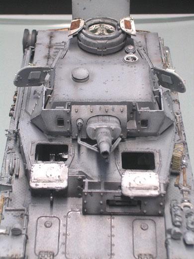 Auch in das komplett Panzergrau kann man viel Leben bringen