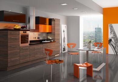 cucina in multistrato canaletto 7500 euro