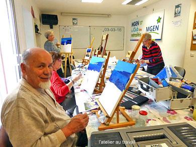Peinture artstique le 03 mars 2016