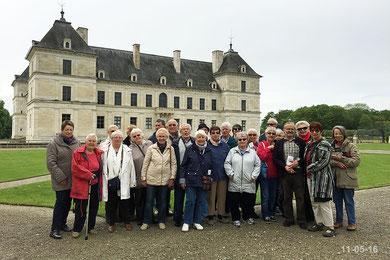Séjour en Bourgogne le 11-05-16
