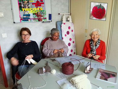Atelier tricot du 27 novembre 2015