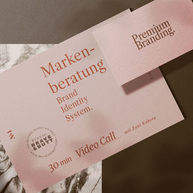 Design-Sprechstunde BRAVE & BUTT Markenberatung und Markenstrategie