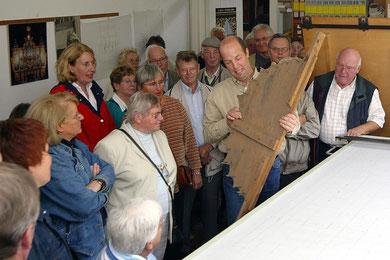 In der Werkstatt mit Hendrik Ahrend