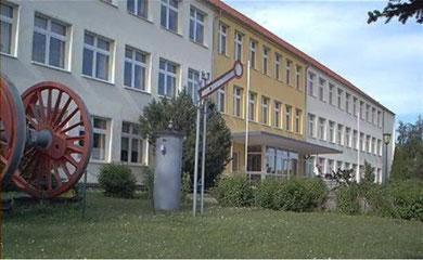 In der Regionalen Schule in Sassnitz befinden sich unsere Vereinsräume
