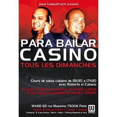 Para Bailar casino@Doors