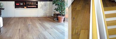 Fußboden und Treppen Schreinerei Lagler in Flintsbach