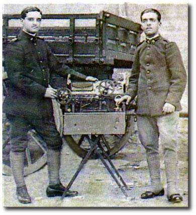 Telegrafisti del Reggimento del Genio