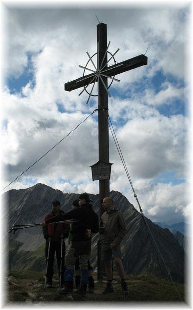 Seekogel (2412m), nähe Memminger Hütte, Lechtaler Alpen, August 2010