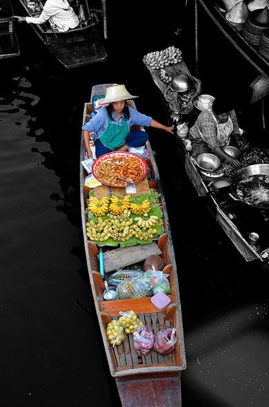 Damnoen Saduak, le marché flottant