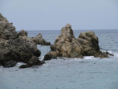 versteinerte Schiff des Odysseus