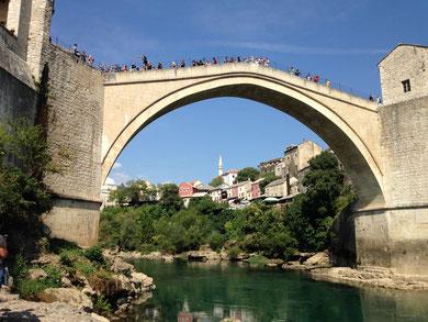世界遺産Stari Most = Old Bridge