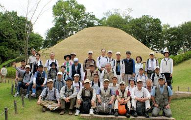 2012-06-06 高松塚古墳にて