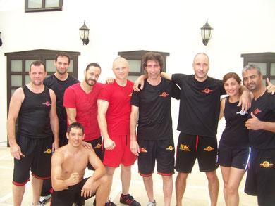 Summercamp Turquia 2011 Todos los países juntos entrenando