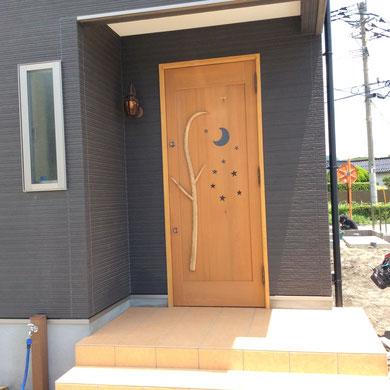 木のドア 木製玄関ドア