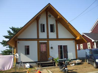 木製ドア ログハウス かわいい 素朴