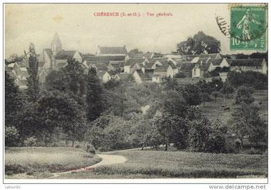 Vue générale du village.