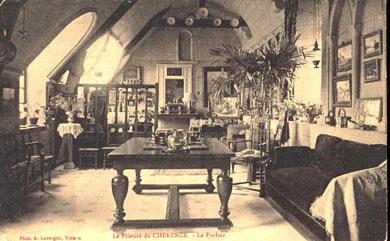 Ce qui allait devenir l'atelier d'artiste de Marie-Thérèse.