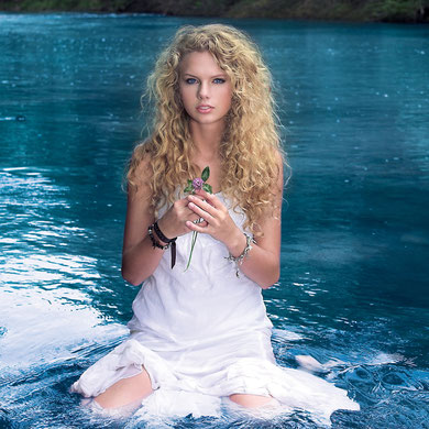 """Taylor Swift"" Album Photoshoot (2006)"