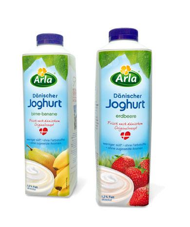 Arla - Dänischer Jogurt - DesignKis  - Packaging - Design - 2012 - Verpackung